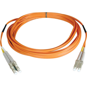 2m Duplex Mmf Cable Lc/Lc 50/125 Fiber Optic/ Fibre Chann / Mfr. No.: N520-02m