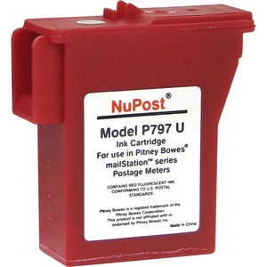 Comp Pb K700/K7mo Postage Meter Ink Cartridge Red / Mfr. No.: Nptk700