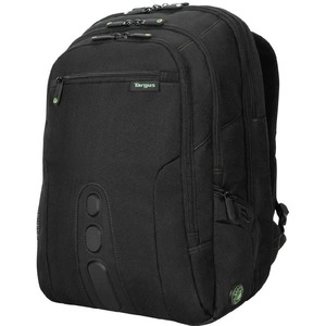 Spruce Ecosmart Black/Green Polyester Backpack 17in / Mfr. No.: Tbb019us