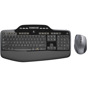 Logitech Wireless Desktop MK710 USB Keyboard and Mouse / Mfr. No.: 920-002416