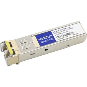 1000base-Lh Sfp Smf F/Juniper 1550nm 70km 100% Compatible / Mfr. No.: Jx-Sfp-1ge-Lh-Aok