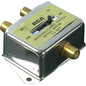 RCA Coaxial Cable Switch 2-Way / Mfr. No.: Vh71n