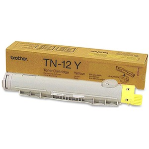 Tn12y Yellow Toner 6k Page Yield At 5% Coverage For Hl4200