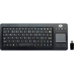 Wirelesss Touch Mini Touchpad Kybrd 2.4 Ghz Multi-Touch Touchpad Bl / Mfr. No.: Kb3800tpw