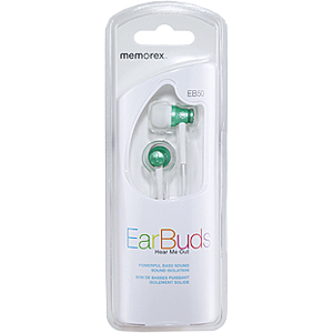 Memorex EB50-GRN Earphone