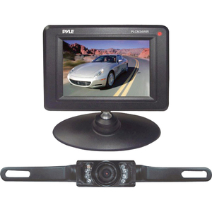 Pyle 3.5in Monitor Wireless Backup/Rearview/Nightvision Cam / Mfr. No.: Plcm34wir