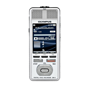 Olympus DM-2 4GB Digital Voice Recorder