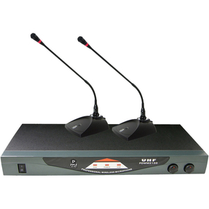 Pyle Professional Dual Table Top VHF Wireless Microphone System / Mfr. No.: Pdwm2150