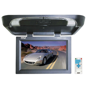 17in Flip Down Monitor W/ Built In DVD/ SD/ USB Player W/ Wirel / Mfr. No.: Plrd175if