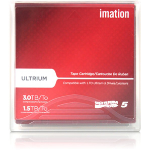 Imation 27732 LTO Ultrium 5 Data Cartridge Labeled with Case