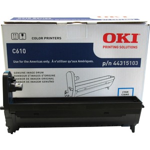 Cyan Image Drum Type C15 For C610 20k Yield / Mfr. No.: 44315103
