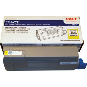 Yellow Toner Cartridge Type C16 For C711 11.5k Yield / Mfr. No.: 44318601