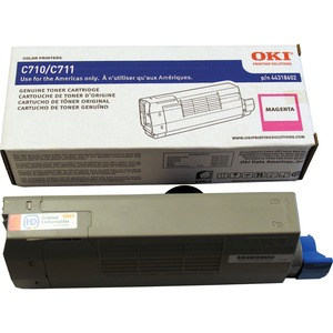 Magenta Toner Cartridge Typ C16 For C711 11.5k Yield / Mfr. No.: 44318602