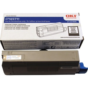 Black Toner Cartridge Type C16 For C711 11k Yield / Mfr. No.: 44318604