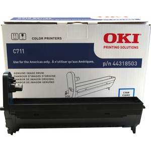 Cyan Image Drum Type C16 For C711 30k Yield / Mfr. No.: 44318503