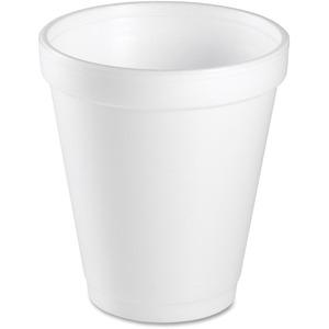 Dart Foam Cups 8 oz 25 per package 40 pkgs/cse