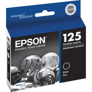 Epson® Inkjet Cartridge T125120-S #125  Black