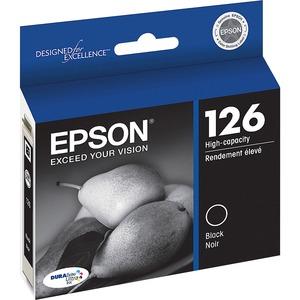 Epson® Inkjet Cartridge High Yield T126120-S #126 Black