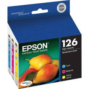 Epson Multipack Ink Cartridge Cyan Magenta And Yellow Ink / Mfr. No.: T126520