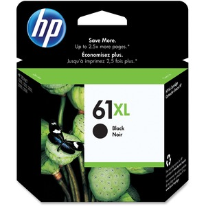 HP Inkjet Cartridge High Yield CH563WN #61XL Black