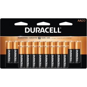 "Duracell® CopperTop® Batteries ""AA"" 20/pkg"