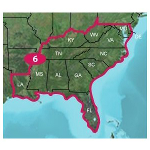 Garmin 010-11319-00 TOPO U.S. 24K Southeast Digital Map