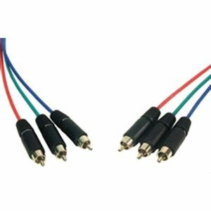 3RCA Component Video Cable 3ft Pro Av/It 26 Awg-Lifetime Warrantya / Mfr. No.: 3RCA-3RCA-3hr