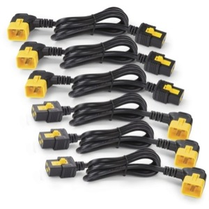 Kit Of 6 1.8m Power Cord Locking C19 To C20 90 Degree / Mfr. no.: AP8716R