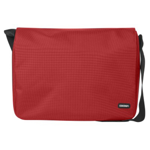 Laptop Messenger Bag - Red Accommodates Up To A 13in Lapto