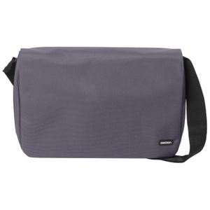 Laptop Messenger Bag - Gray Accommodates Up To A 16in Lapto