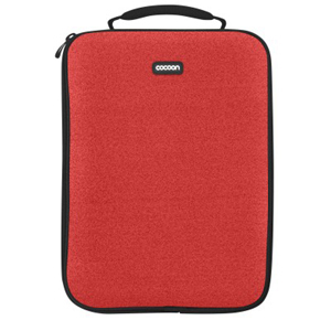 Neoprene Laptop Sleeve - Red Accommodates Up To A 13in Lapto