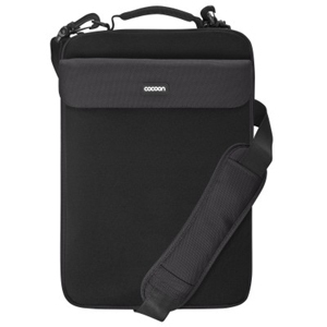 Neoprene Laptop Case - Black Accommodates Up To A 16in Lapto