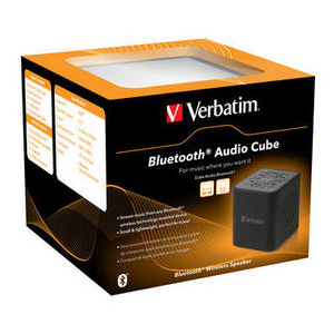 Verbatim Bluetooth Audio Cube Speaker System