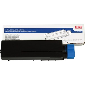 Black Toner Cartridge For B411 B431/Mb461/Mb471/Mb471w/Mb491 4 / Mfr. No.: 44574701