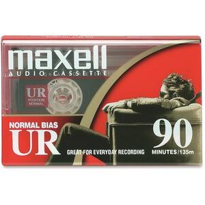 Maxell Standard Audio Cassette Tape 90-Minutes