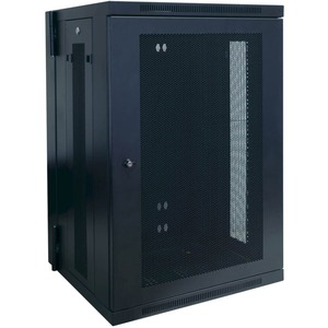 18u Wall Mount Rack Enclosure Cabinet W/ Door and Side Panels / Mfr. No.: Srw18us