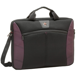 Swissgear Sherpa Slimcase Burgandy Fits Up To 16in Laptop / Mfr. No.: Ga-7500-01f00