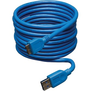10ft USB 3.0 Super Speed 5gbps A To Micro B Device Cable / Mfr. no.: U326-010