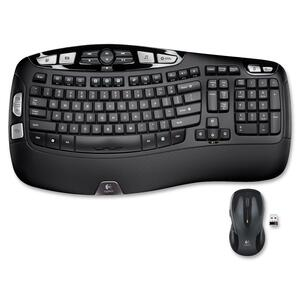 Logitech® Wave MK550 Wireless Desktop Combo English