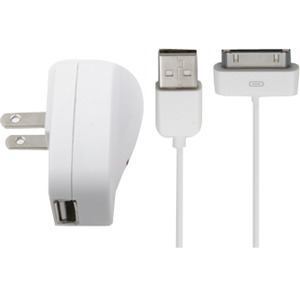 Accell L114b-004j USB To 30pin Cable+AC Charger For IPod/Phone / Mfr. No.: L114b-004j