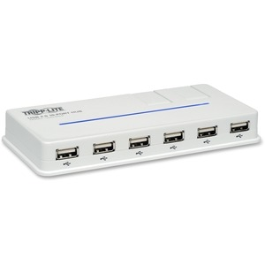 10port USB 2.0 Hub Hi-Speed W/ 2swivel / Mfr. No.: U222-010-R