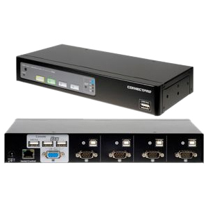 4port USB KVM Switch VGA With Ddm and Active Ddc / Mfr. No.: Ur-14-Plus-Kit