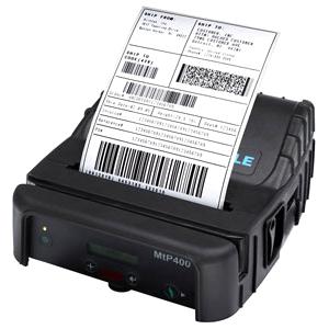 Printek MtP400si Direct Thermal Printer - Monochrome - Portable - Label Print
