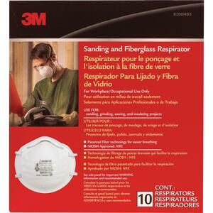 3M Sanding & Fiberglass Respirator Mask 10/box