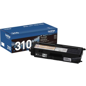 Brother® Laser Cartridge TN310BK Black
