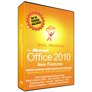 Total Training for Micrsoft Office 2010, Getting up to Speed