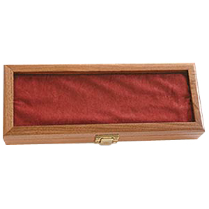 Image KNIFE, WALNUT DISPLAY CASE-PLAIN