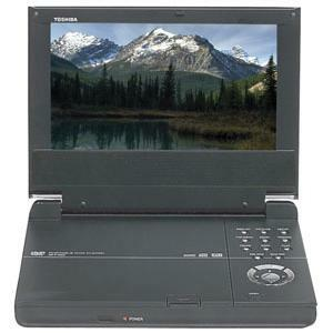 "Toshiba SD-P1600 7"" Portable DVD Player"