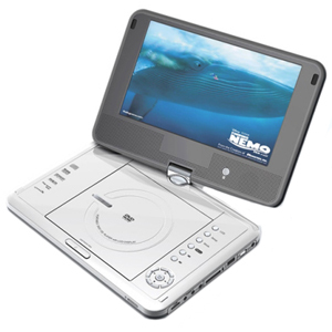 Mustek MP 100 Portable DVD Player
