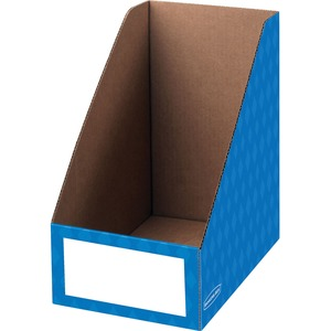 "Magazine File 8"" Blue 3/pkg"